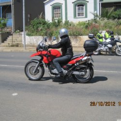17 Month end ride Napier Oct 2012